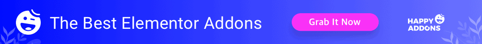 HappyAddons - the best Elementor Addon