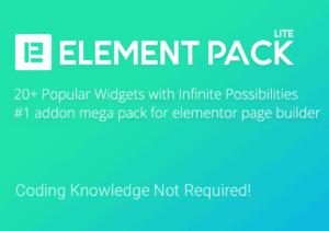 Element Pack Lite Elementor Addon