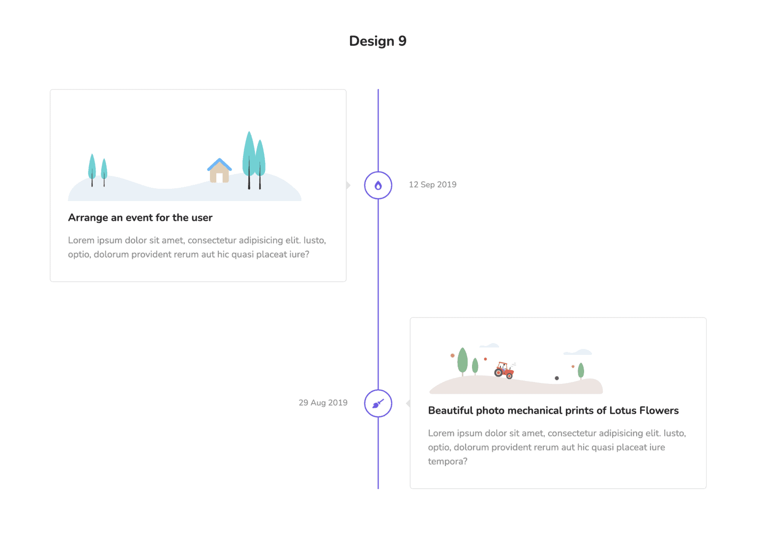 Elementor Widget Timeline of Happy Addons