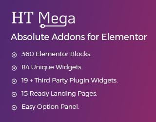 HT Mega Absolute Addons for Elementor