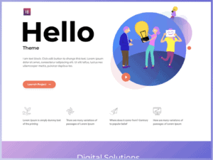 Hello Elementor Theme Review