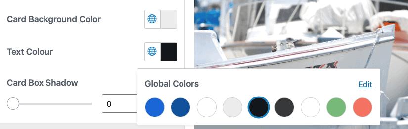Neve Theme Global Colors