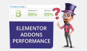 Elementor Addons Performance Test