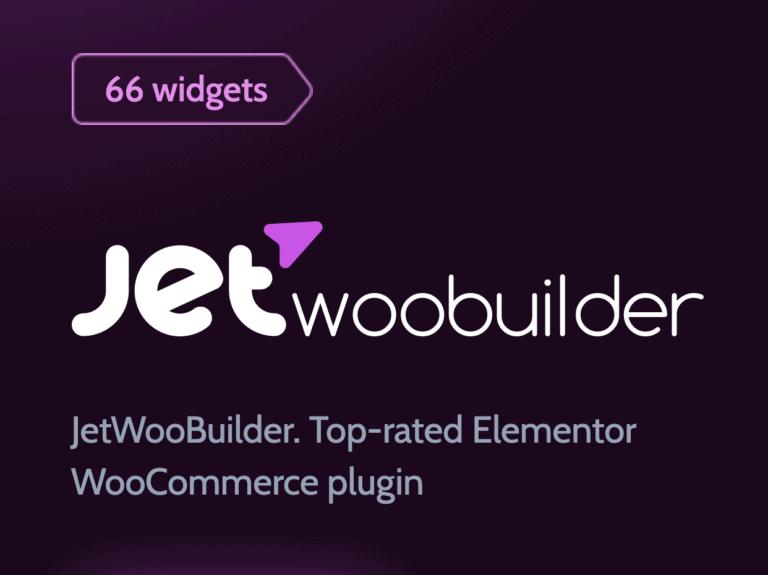 JetWooBuilder - Best Elementor Addon for WooCommerce